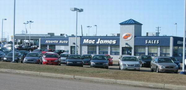 Mac James Motors Edmonton South