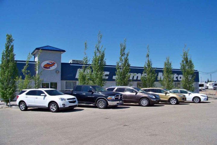 Mac James Motors Used Cars North Edmonton