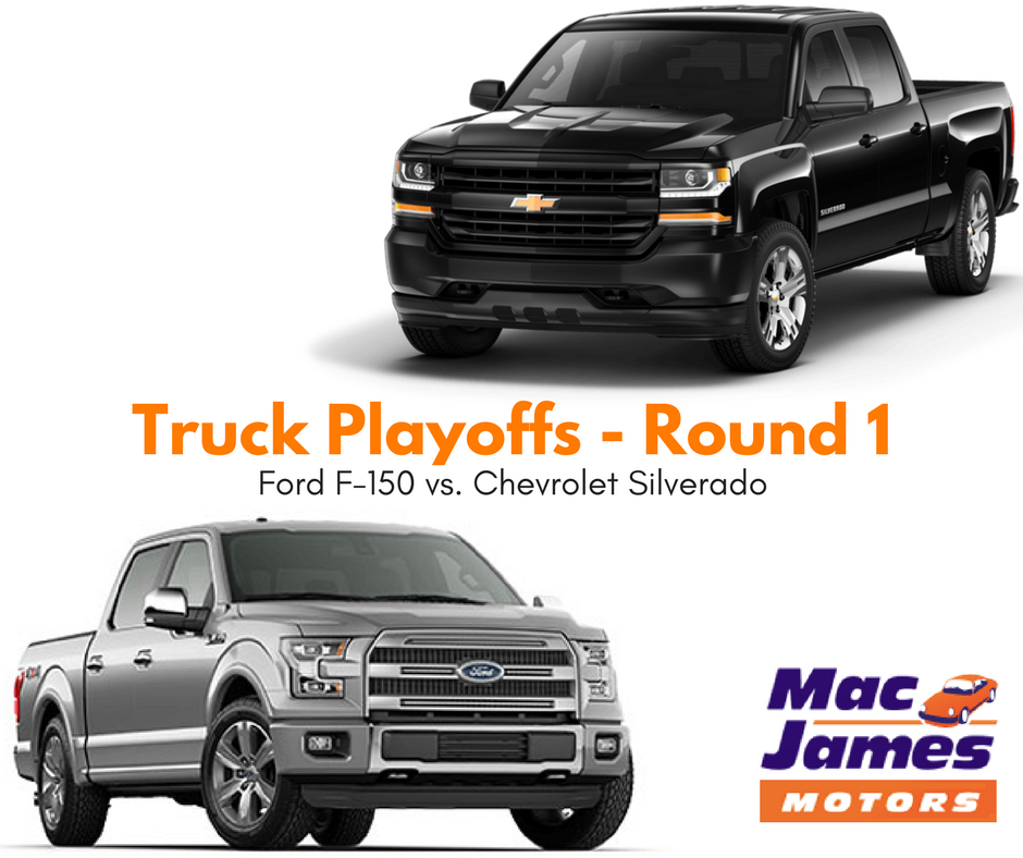mac james truck playoffs round 1 chevrolet silverado vs. Black Bedroom Furniture Sets. Home Design Ideas