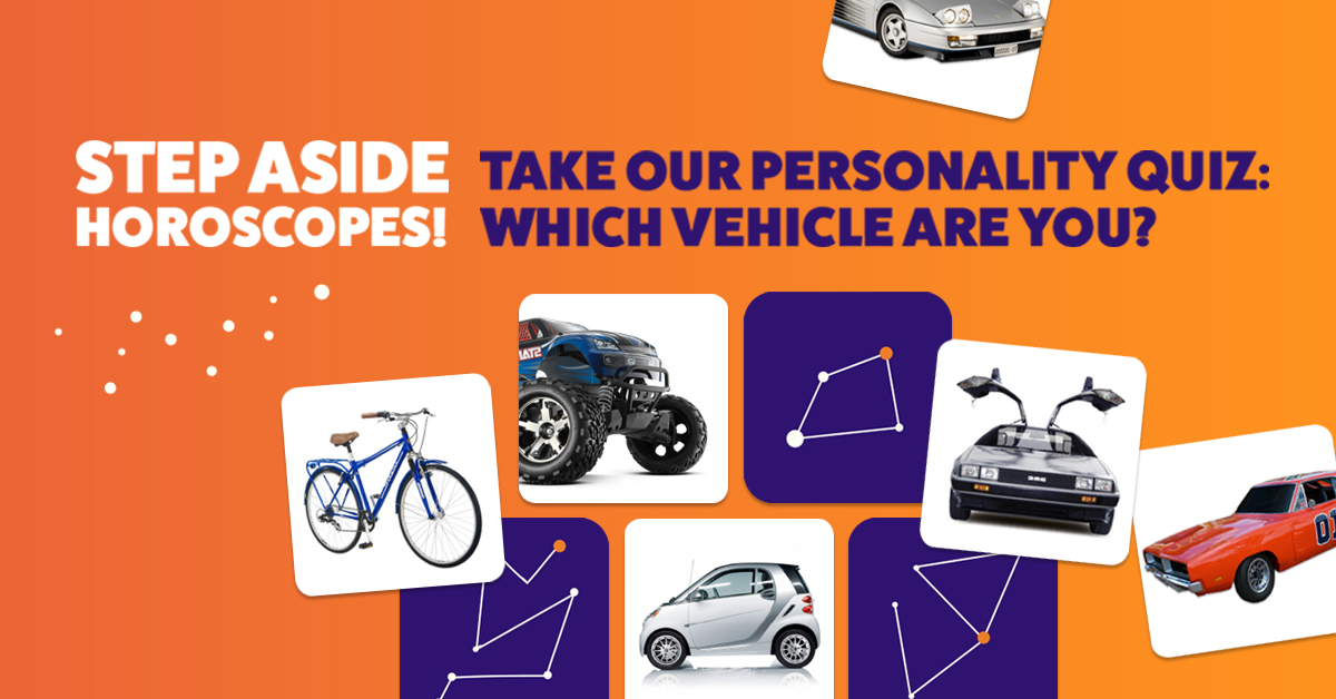 Mac James Motors Car Personality Quiz