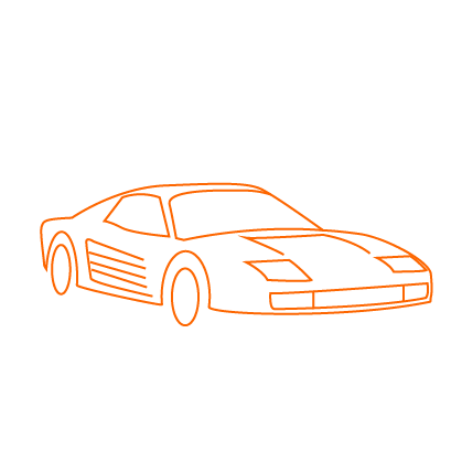 mac james motors ferrari testarossa