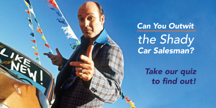Mac James Motors || Can you outsmart the shady car salesman?