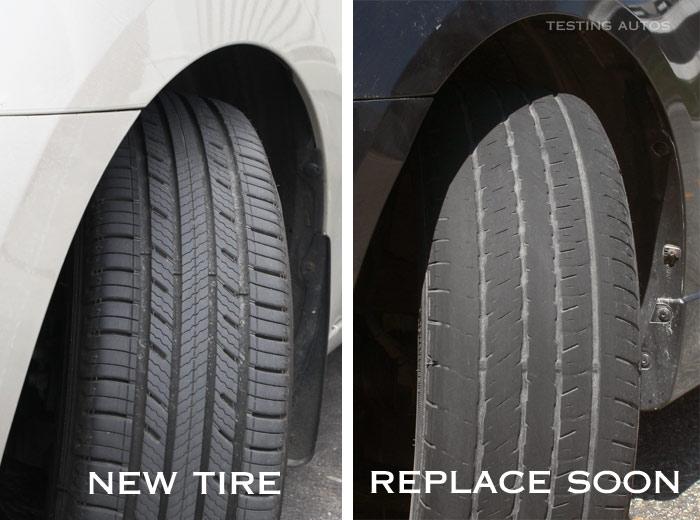 Visual Inspection | Worn Tires | Mac James Motors