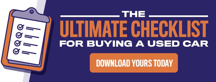 Car Buying Checklist   Mac James
