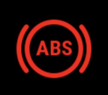 Anti-lock brake warning