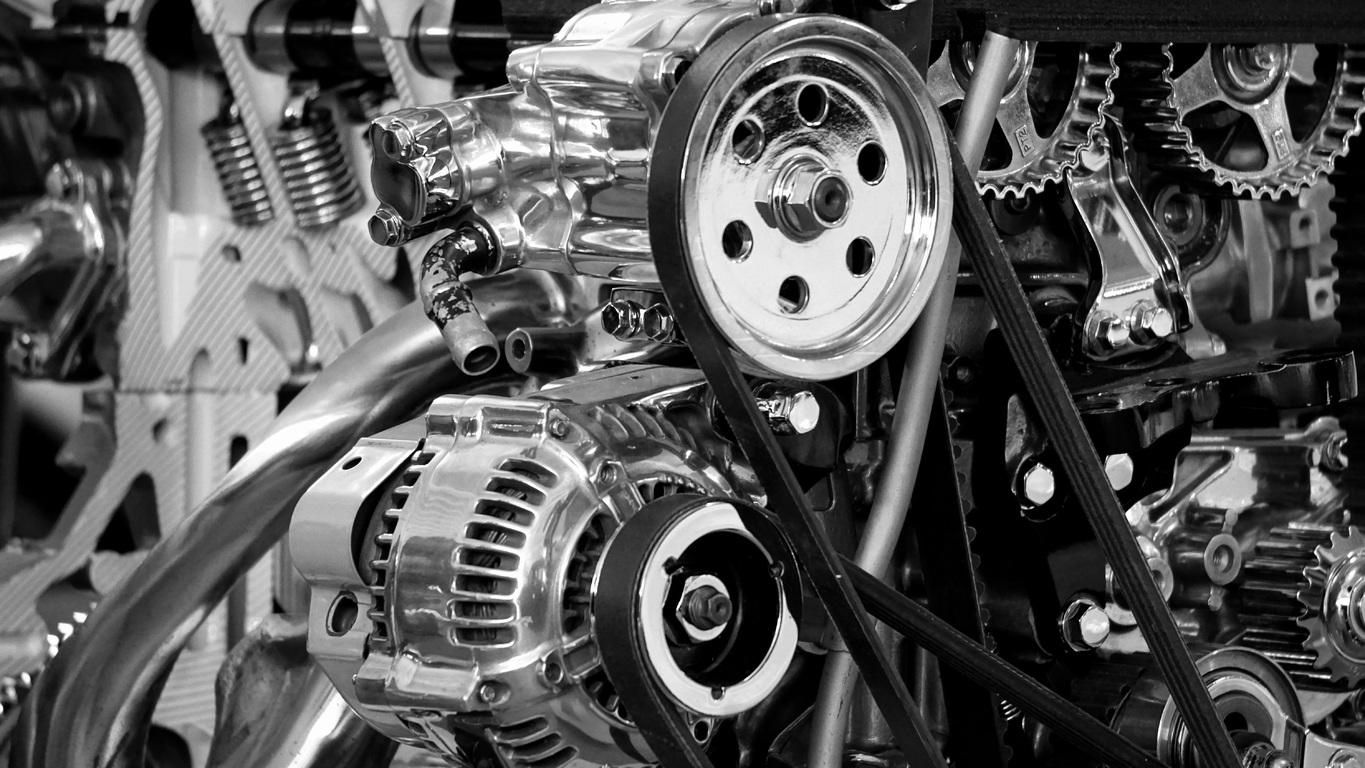 Most parts of the car engine, including hoses, belts, alternators, and water pumps can either be recycled or repaired.